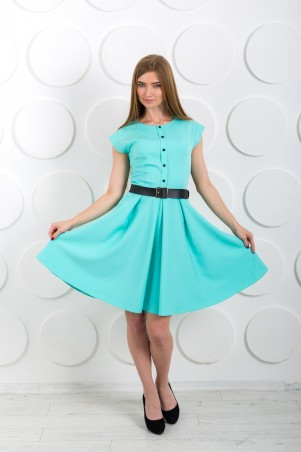 "InRed: Платье ""Pretty girl"" мятное 7191m - главное фото"
