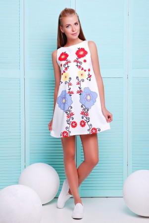 Glem: Платье Этно цветы  Лада б/р - главное фото