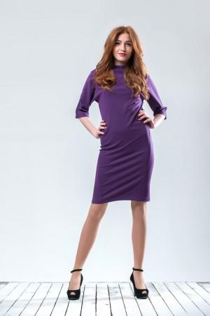 Ляпота: Платье фиолетовое 3003-1 - главное фото