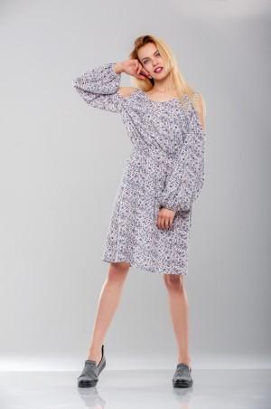 Ляпота: Платье с вырезами на плечах 1025 - главное фото