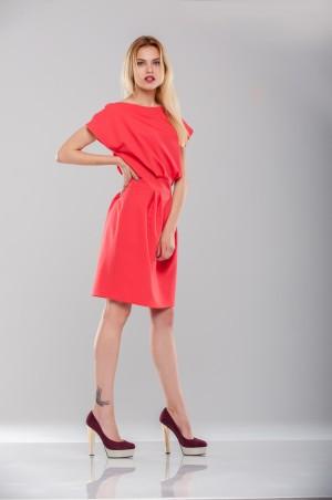 Ляпота: Платье кораловое 1022 - главное фото