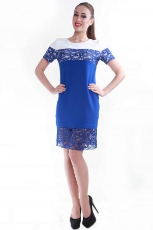 Alpama: Платье электрик SO-13049-ELB SO-13049-ELB - главное фото