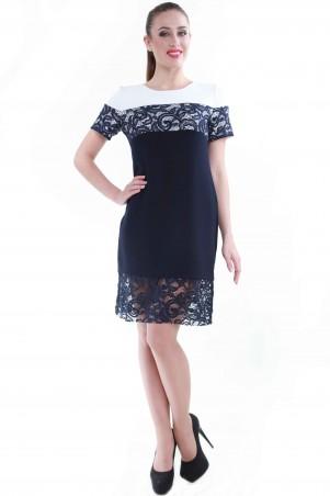 Alpama: Платье синее SO-13049-BLU SO-13049-BLU - главное фото