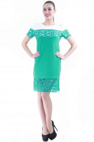Alpama: Платье мята SO-13049-TRQ SO-13049-TRQ - главное фото