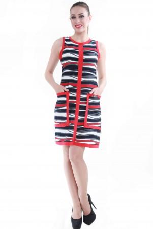 Alpama: Платье SO-13047-RED - главное фото