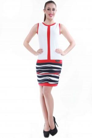 Alpama: Платье SO-13044-RED - главное фото