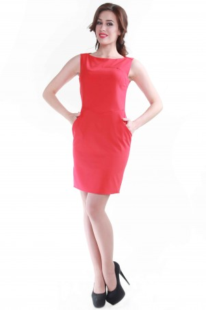Alpama: Платье красное SO-13053-RED SO-13053-RED - главное фото
