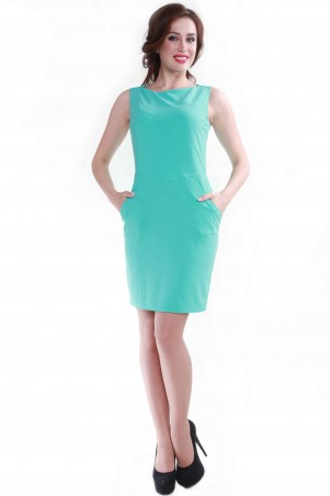 Alpama: Платье мята SO-13053-MNT SO-13053-MNT - главное фото