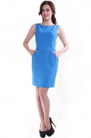 Alpama: Платье голубое SO-13053-CYP SO-13053-CYP - главное фото