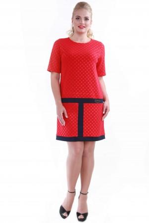 Alpama: Платье SO-13048-RED - главное фото
