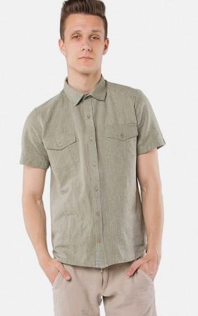 MR520 Men: Рубашка MR 123 1098 0216 Olive - главное фото