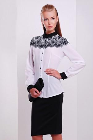 Glem: Блуза Кружево черное  Есения д/р - главное фото