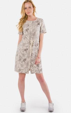 MR520 Women: Платье - мини MR 229 2140 0216 Flax Gray - главное фото