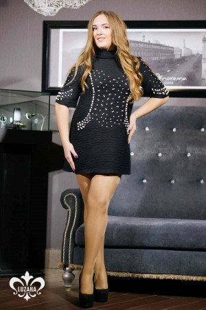 Luzana: Платье-Туника Божоле - главное фото
