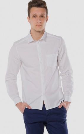 MR520 Men: Однотонная рубашка MR 123 1097 0216 White - главное фото