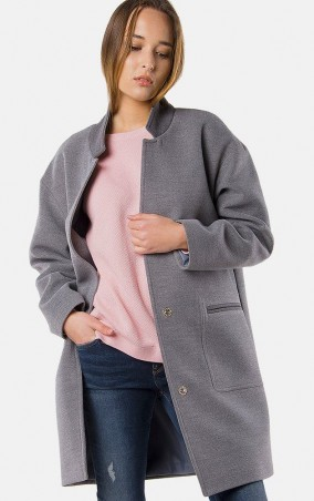 MR520 Women: Шерстяное пальто oversize (оверсайз) MR 220 2199 0216 Gray - главное фото